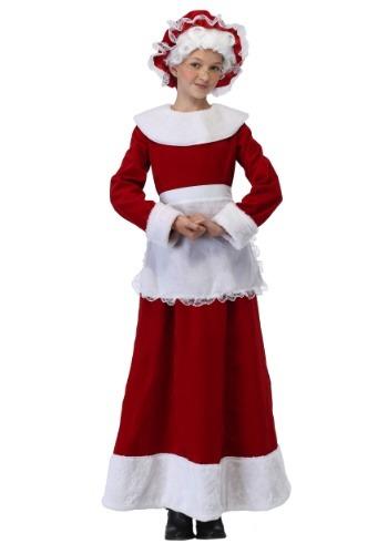 Niñas Disfraz de la señora Claus