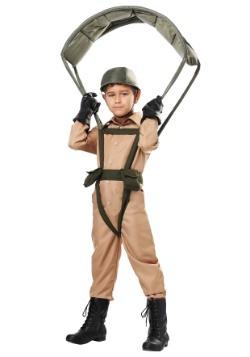 Disfraz infantil de paracaidista militar