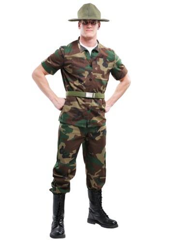 Sargento de perforación de hombres