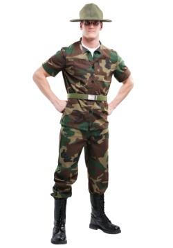 Sargento de perforación más hombres
