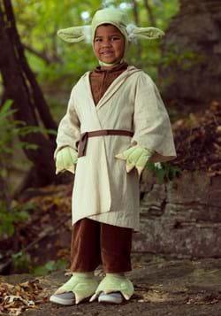 Disfraz de Yoda para Niños de la Guerra de las Galaxias