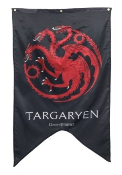 Letrero de 30x50 Targaryen de Game of Thrones