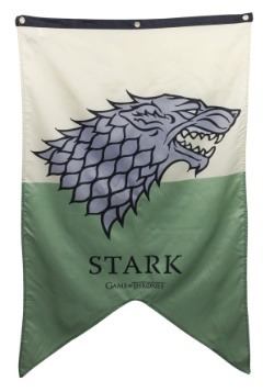 Letrero de 30x50 Stark de Game of Thrones