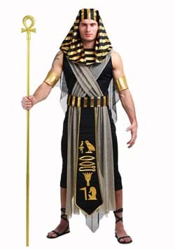 Todo el poderoso traje de faraón para hombre