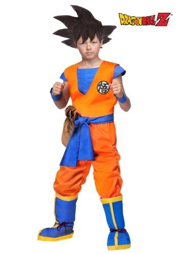 Disfraz de Goku de Dragon Ball Z auténtico para niños