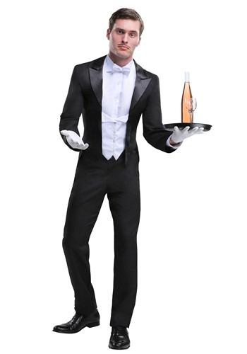 Disfraz de mayordomo para hombres