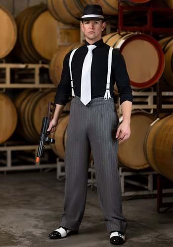 Disfraz de subjefe de la mafia para hombre