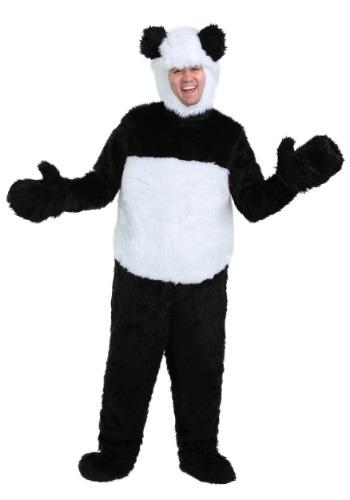 Disfraz deluxe de panda para adulto