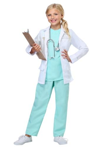 Disfraz de doctor para niñas