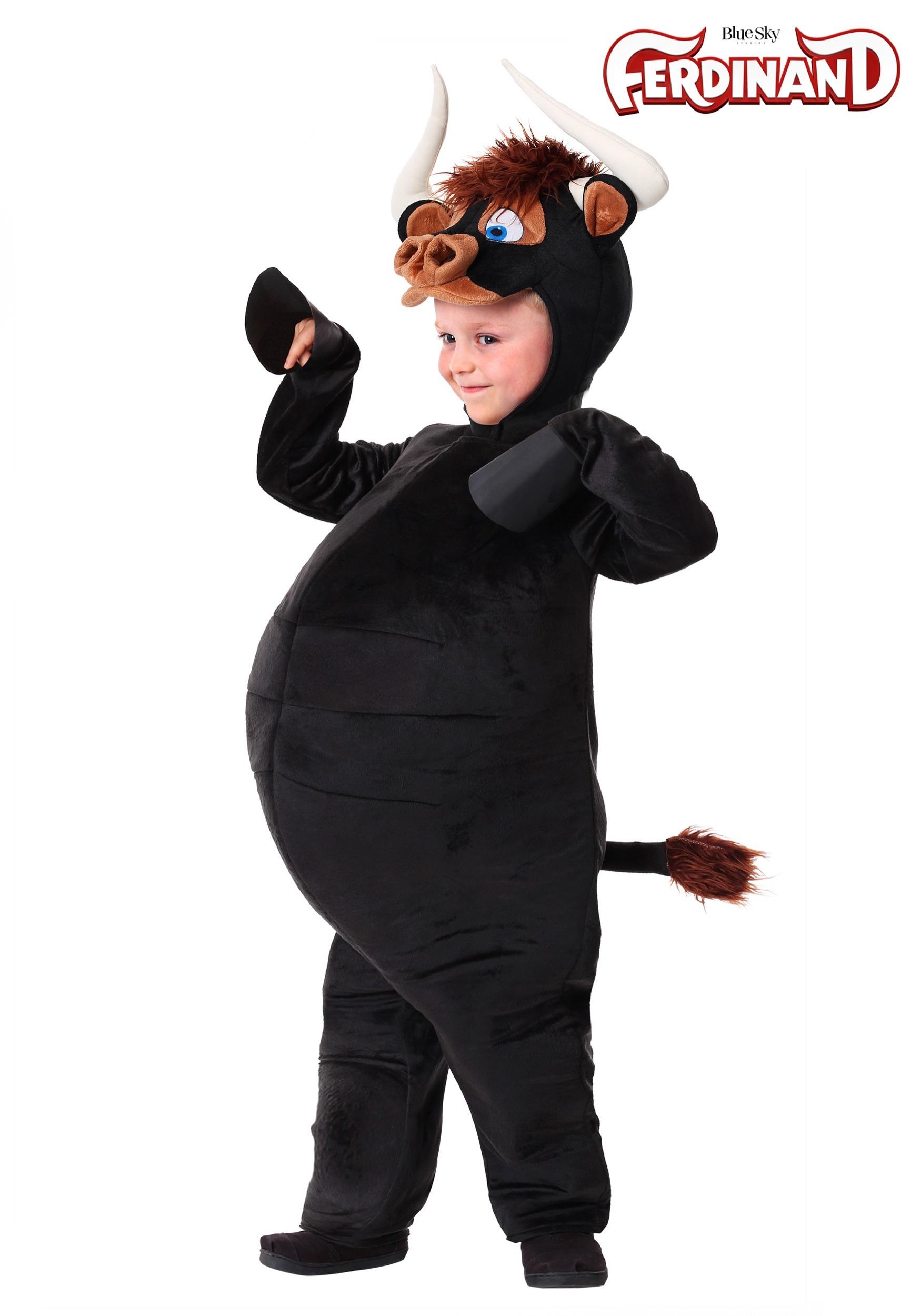 f49c06c41 Disfraz de toro Ferdinand para niños pequeños