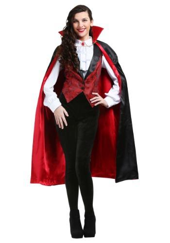 Disfraz de vampiro feroz de mujer talla grande