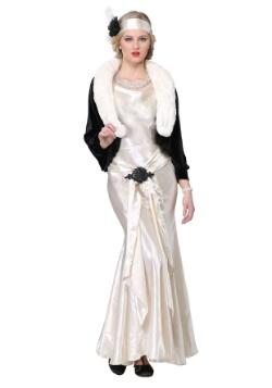 Disfraz de mujer talla grande de socialité de los años 20
