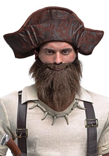 Adulto de espadachín pirata barba