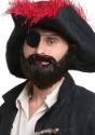 Barba de pirata rufián para adulto