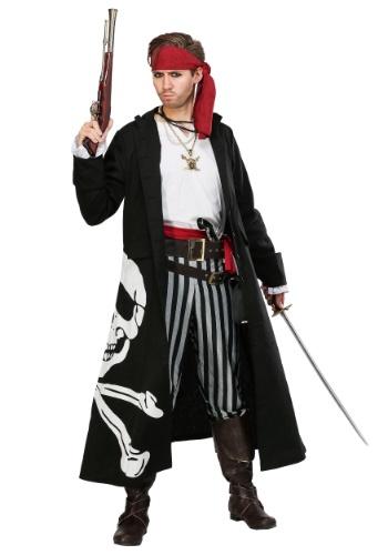 Disfraz de Capitán Bandera Pirata para hombre
