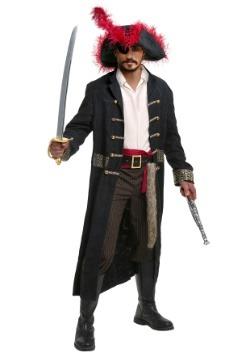 Naufragio capitán traje de talla grande para hombre