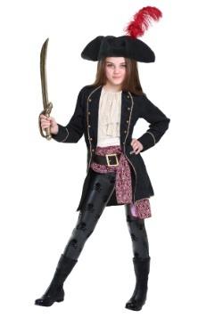Disfraz de bucanero para niñas