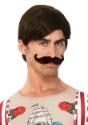 Peluca y bigote de forzudo para hombre