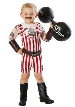 Disfraz de Strongman Vintage para niño