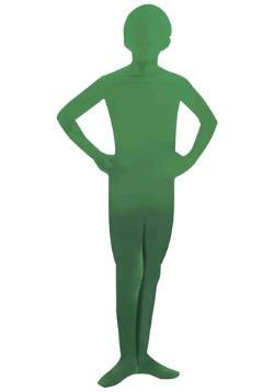 Disfraz de piel de hombre verde para niños