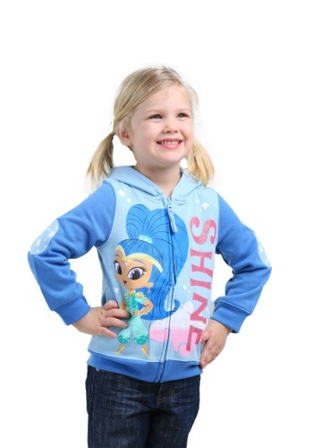 Shimmer & Shine Toddler Girls Shine sudadera con capucha
