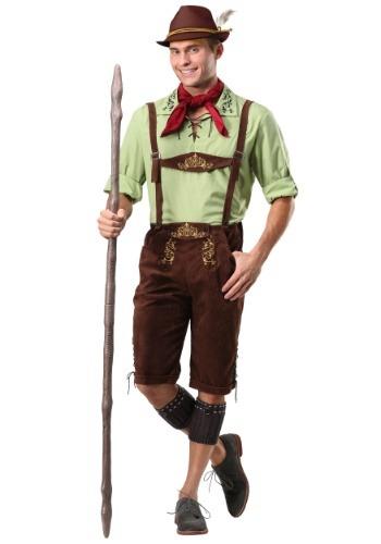 Disfraz de Lederhosen alpino para hombre