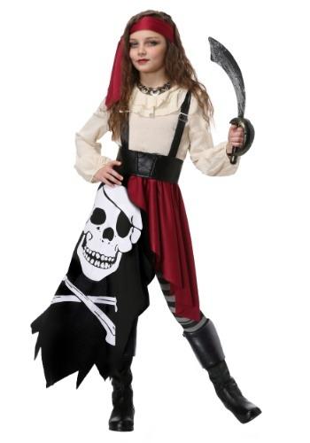 Disfraz de pirata gitana para niñas
