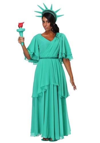 Disfraz para mujer de la Estatua de la Libertad