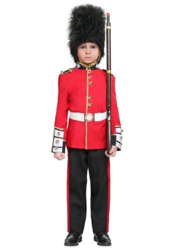 Disfraz de guardia real para niños