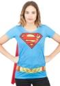 Camiseta Supergirl Suit Up Sublimated Cape
