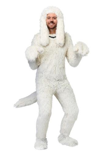 Disfraz de perro ovejero peludo para adulto