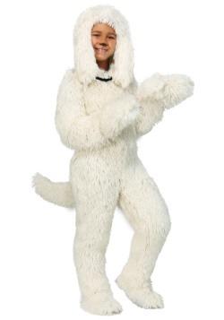 Disfraz de perro peludo para niños