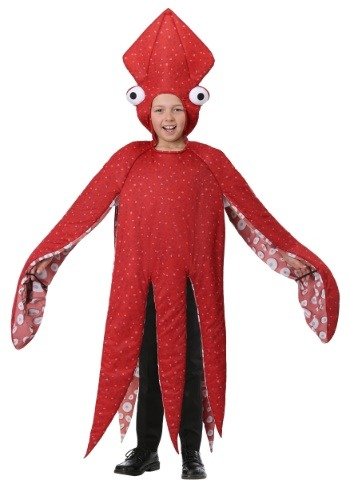 Disfraz de Calamar para niños