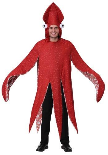 Disfraz de calamar para adulto
