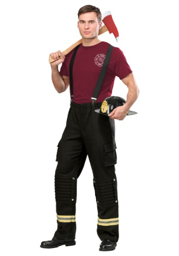 Disfraz de Capitán Fuego para hombre