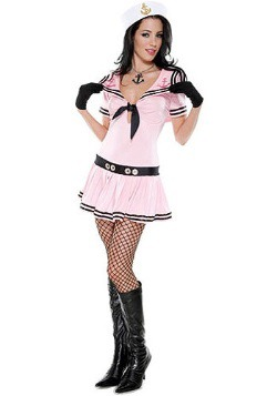 Disfraz de marinera rosa sexy