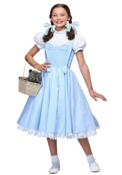 Disfraz de chica de Kansas deluxe para niños