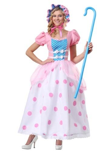 Disfraz de Bo Peep Plus Size para mujer