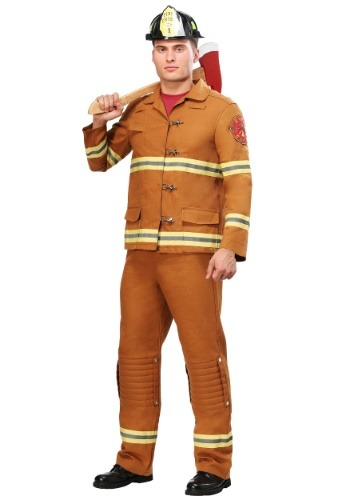 Disfraz de Tan Firefighter Uniform para hombre