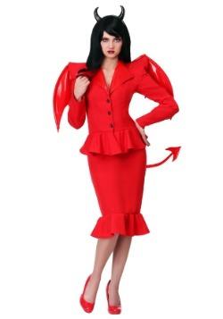 Disfraz de diablo feroz para mujer