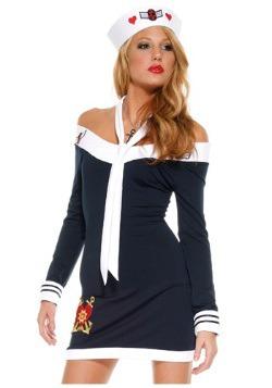 Vestido de marinero sexy