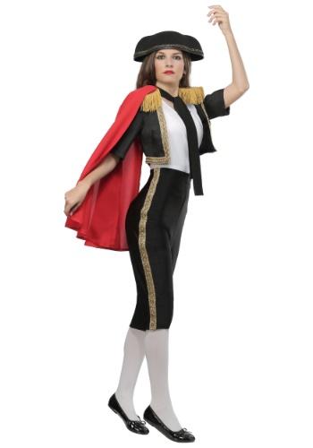 Disfraz de Matador Magnífico talla grande para mujer