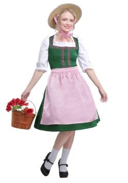 Traje de belleza Oktoberfest de mujer talla grande