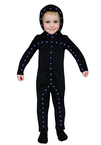 Disfraz de Hombre Palo para niños pequeños
