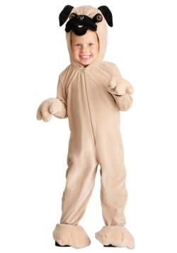 Disfraz de Pug para niños pequeños
