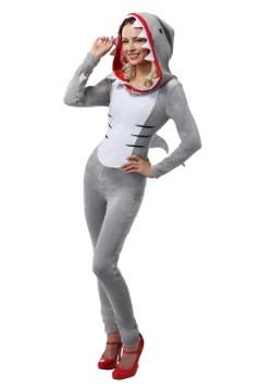 Disfraz de mujer con tiburones