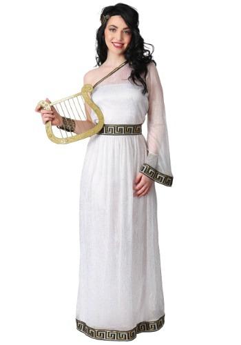 Disfraz de diosa griega para mujer talla grande
