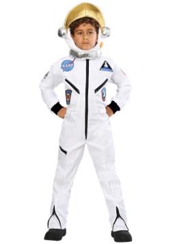 Disfraz de mono astronauta blanco