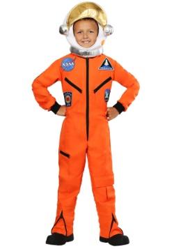 Disfraz de mono astronauta naranja