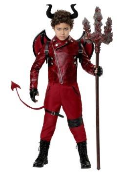 Disfraz de Diablo Peligroso para Niños